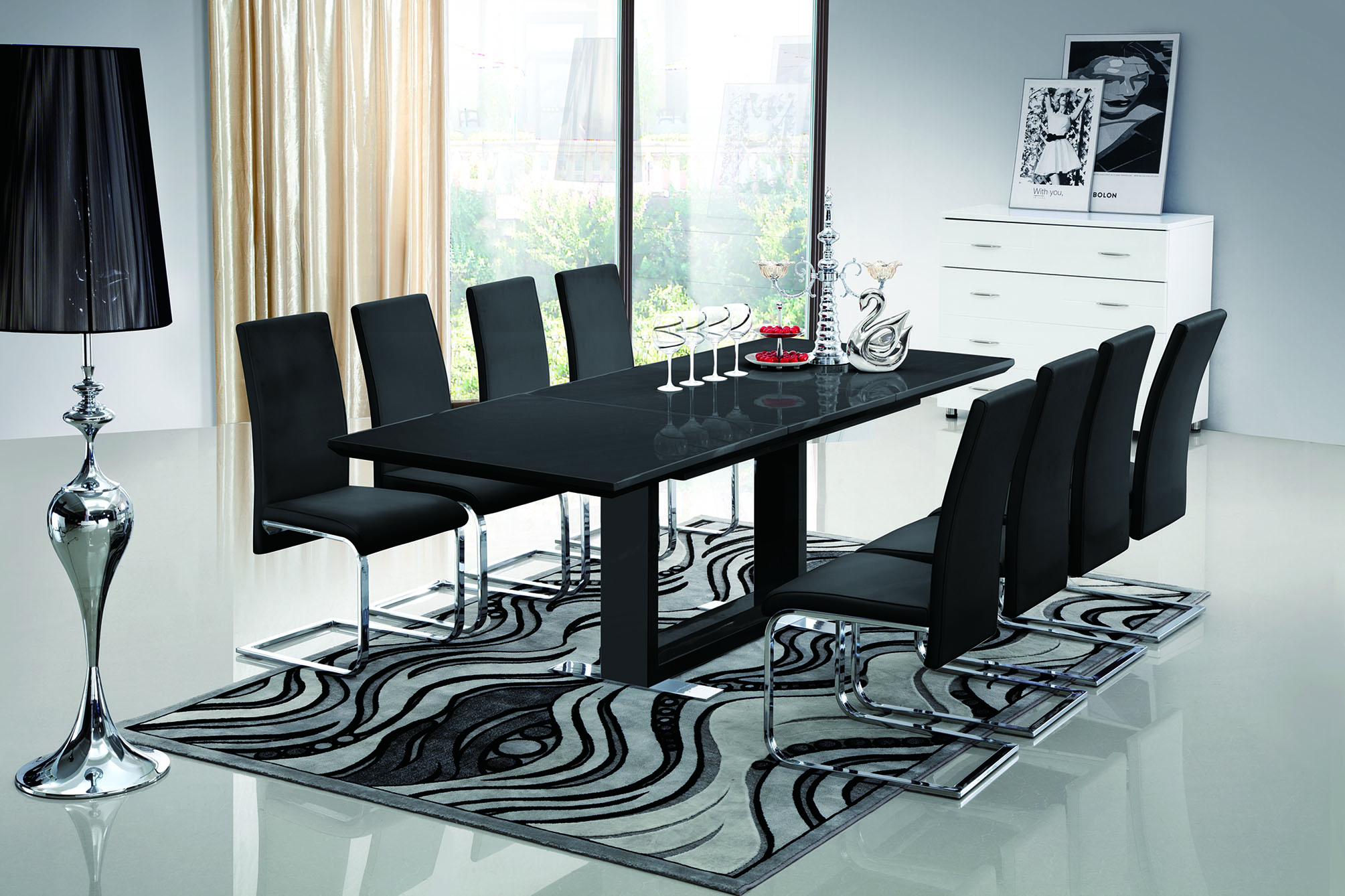 10 Superb Square Dining Table Ideas For A Contemporary: Rocka Møbler